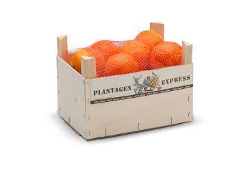 Speiseorangen direkt importiert aus Spanien, Premiumqualität, frisch und saftig, 5kg Plantagen Express