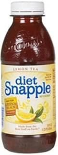 Snapple Diet Lemon Tea, 20-Ounce Bottles (Pack of 24)