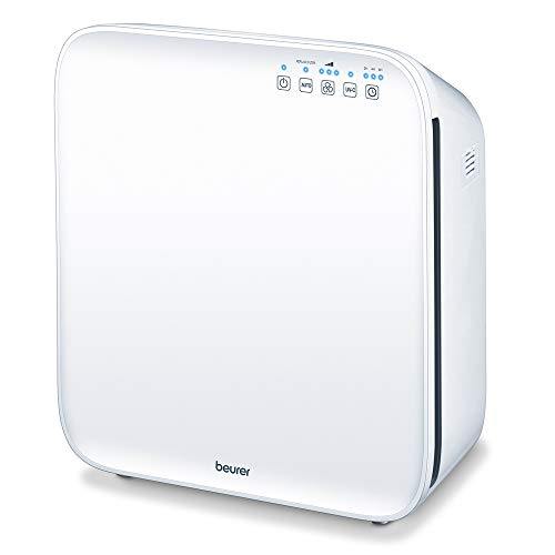 Beurer LR310 Air Purifier | Triple-layer filtration system | Clears 99.5% of pollutants from the air in your home | Dust particle sensor | Additional UV light cleaning | Suitable for rooms 18m² - 56m²