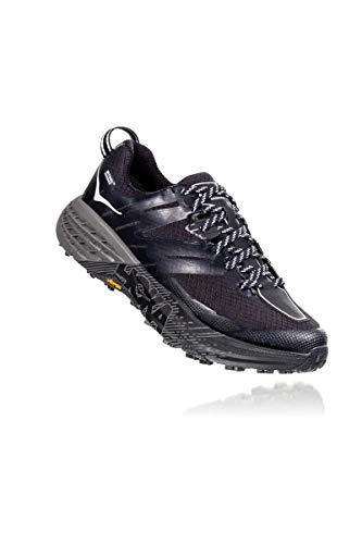 Hoka Speedgoat 3 WP, Zapatillas de Running por Mujer, Negro (Black/Plein Air - BPAR), 38 2/3 EU