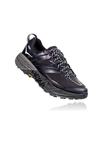 Hoka Speedgoat 3 WP, Zapatillas de Trail-Running por Mujer, Negro (Black/Plein Air - BPAR), 37 1/3 EU
