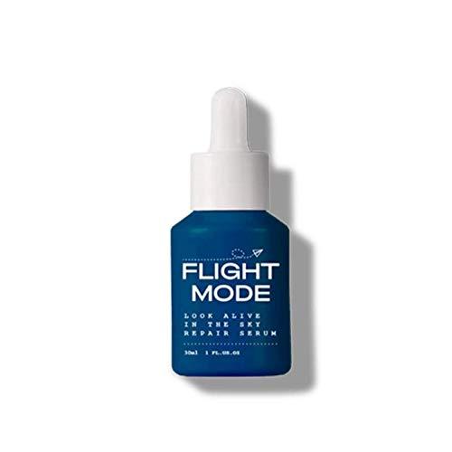 Flight Mode Look Alive Repair Face Serum for Dry Skin | Hydrating Anti Wrinkle Serum | Great Stocking Stuffer | Moisturizer Facial Serum with Hyaluronic Acid & Vitamin C - 25g/0.85oz