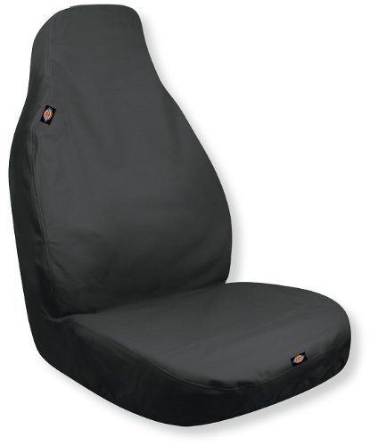 Dickies Heavy Duty Water-Resistant Trader Seat Cover, Black