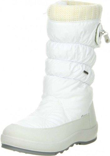 Vista Damen Winterstiefel Snowboots weiß, Größe:37, Farbe:Weiß
