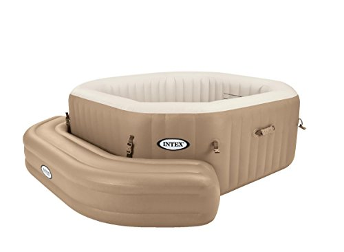 INTEX 28509 Banco Hinchable para Bubble SPA Octogonal I.2