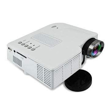 Micro Projector Mini Home Portable Portátil Proyector de Nueva generación Compacto y liviano, Regalo