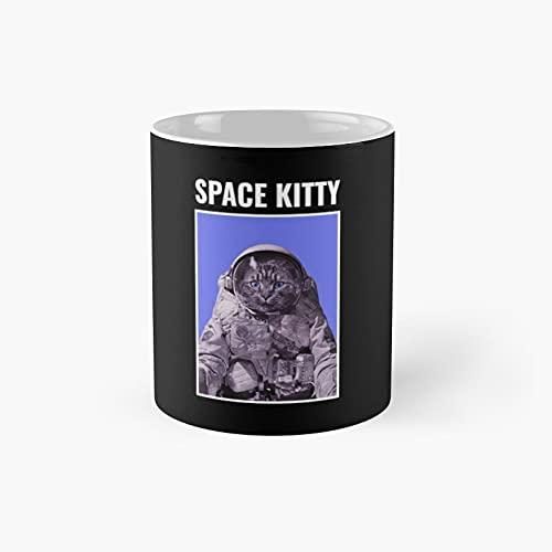 Space Kitty Classic Mug Novelty Gift...