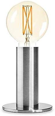 SOL - Lámpara de mesa con regulador de intensidad táctil, bombilla ...