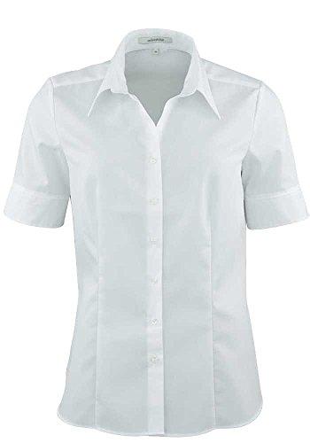 Seidensticker Damen Bluse , Weiß (01), 44
