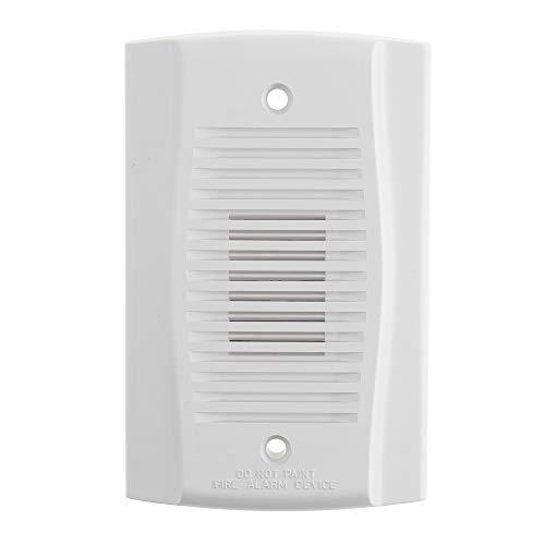 System Sensor MHW SpectrAlert Mini Horn, Wall Mount, 12/24V, White
