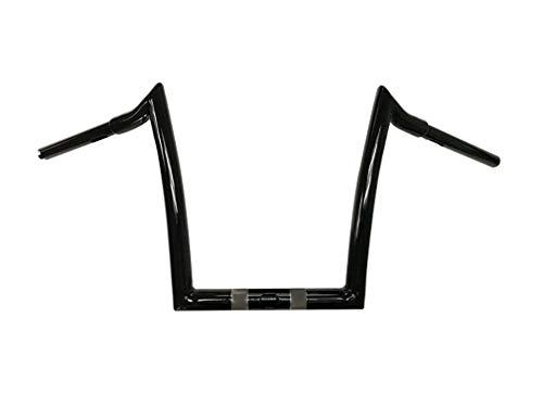 Dominator Industries 12' Meathook Monkey Bars Ape Hangers Compatible With 2015-2021 Harley Road...