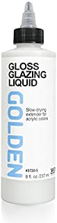 Golden Acrylic Glazing Liquid Gloss - 8 oz Bottle