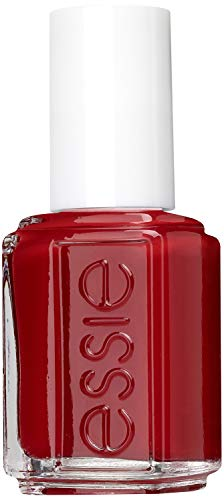 essie Nagellack Feuriges Rot forever yummy Nr. 57 / Ultra deckender Farblack in cremigem Tiefrot 1 x 13,5 ml