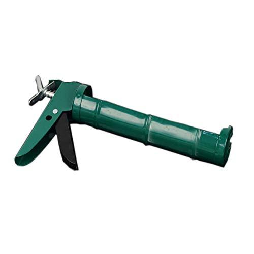 Pistola para calafatear, pistola de calafateo manual Herramienta de vidrio Vidrio Giratorio de 360 grados Ahorro de presión Pistola para calafatear Cartucho Sellador Industrial Durable
