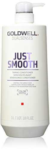 Goldwell Dualsenses Just Smooth Taming Conditioner, 1er Pack (1 x 1 l)