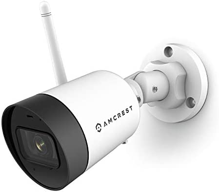 Amcrest SmartHome 4MP Outdoor WiFi Camera Bullet 4MP Outdoor Security Camera 98ft Night Vision product image