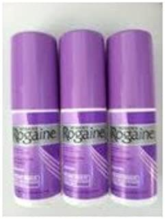 Women's Rogaine Hair Regrowth Treatment Unscented 3 Month Supply (without Box)