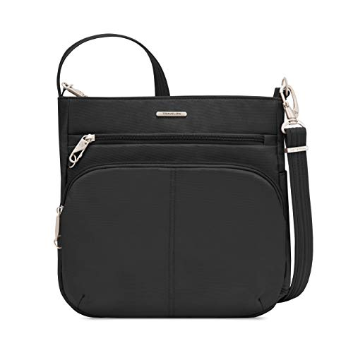 Travelon Anti-Theft Classic N/s Crossbody, Black