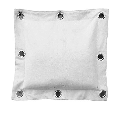 KOMANIC Kung Fu-Sand Boxsack, Wing Chun, Leinwand, Boxhandschuhe (40 x 40 cm)