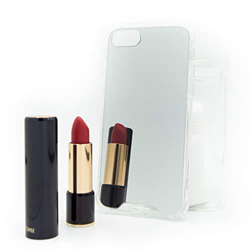 CaseTech Custodia Specchio | Compatibile con iPhone SE 2020, 7, 8 | Trasparente | Mirror Cover, Premium Case | Cornice flessibile, assorbimento degli urti | (iPhone SE 2020, 7, 8, Argento)