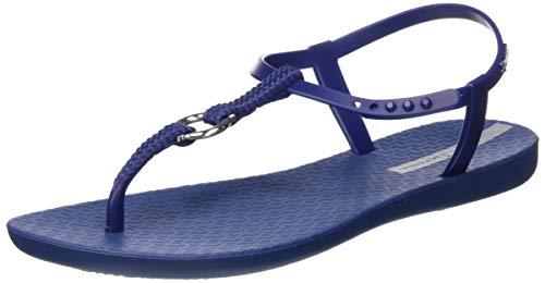 Ipanema Damen Charm VII Sand FEM T-Spangen Sandalen, Mehrfarbig (Dark Blue/Blue 8983.0), 37 EU
