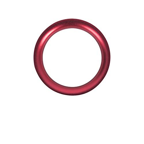 Meng Meng FIT FOR Mazda CX5 ANGKESELA ATEZ CX4 COGIN EN Motor DE COMENTARIO DE Inicio DE ACTUALIZACIÓN DE Anillo Limpio Dedicado al Parche de botón de Inicio de un Solo Clic (Color Name : Red Ring)