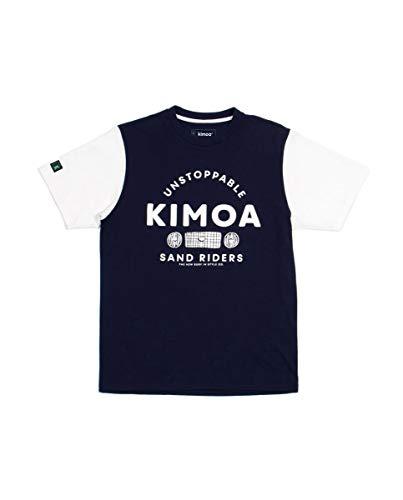 Kimoa Camiseta Indigo 2 Azul, Unisex Adulto, XL