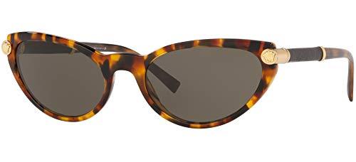 Versace 0VE4365Q Gafas de sol, Havana, 54 para Mujer