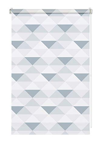 Gardinia Easyfix - Estor (60 x 150 cm), diseño de triángulos
