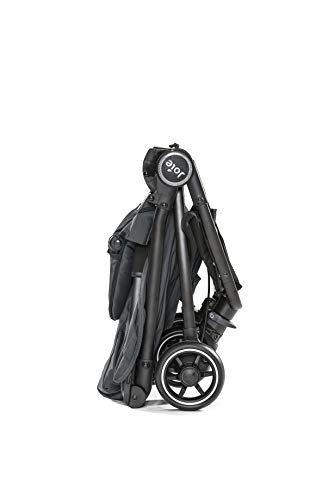 Joie Pact Flex LFC Pushchair/Stroller, Black Liverbird Joie Suitable from birth with flat reclining seat Lightweight chassis, with easy and compact fold Pairs perfectly with Joie Gemm, i-Gemm, i-Snug and i-Level car seats 5