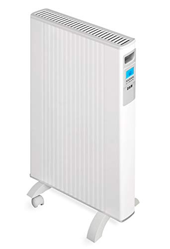 HJM Emisor térmico móvil de bajo consumo ALEA 1000 W | Pantalla LCD Programable | Diseño...