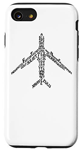 Pilot Flight Airplane Arts 22 Iphone Se 2020 7 8 Phonetic Alphabet Pilot Airplane Case From Amazon Daily Mail