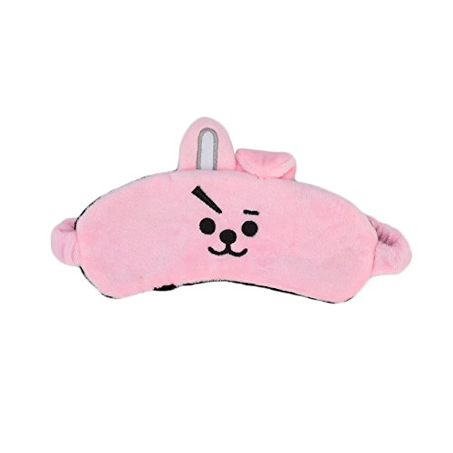 dili-bala Kpop B ts Schlafmaske, Bangtan Boys Augenmaske Cartoon Soft Protection Shading Schlafende Augenmaske Cotton Eyepatch Cover Eyeshade(H02)