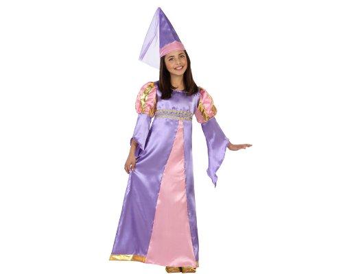 Atosa - 23451 - Costume - Déguisement De Reine Médiévale - Fille - Taille 3