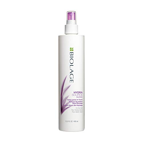 BIOLAGE Hydrasource Daily Leave-In Tonic | Moisturizes, Renews Shine & Protects Hair From Environmental Damage | for Dry Hair | 13.5 Fl Oz