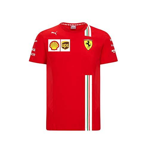 PUMA Scuderia Ferrari Team Youth Motorsport T-Shirt Rosso Corsa 104
