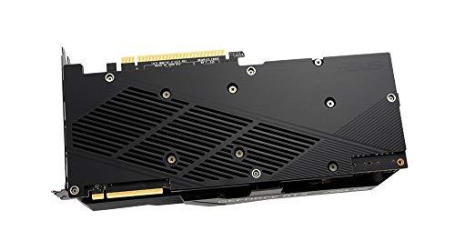ASUS Dual GeForce RTX 2080 SUPER EVO V2 OC Edition 8 GB GDDR6, Scheda Video Gaming, Ventole AxialTech, Tecnologia 0 dB, Dissipatore da 2.7 Slot, Tecnologia Auto-Extreme e Backplate