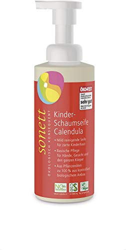Sonett Bio Kinder-Schaumseife Calendula (2 x 200 ml)