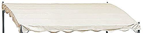 DISRAELI Copertura per Gazebo Materiale Ecru Bianco 3x4m Coperture Esterni