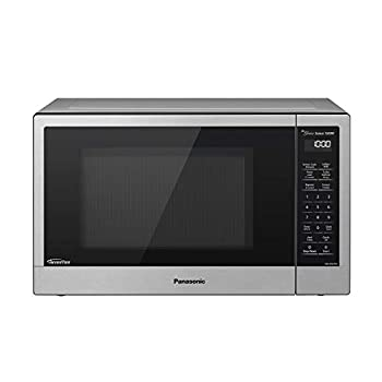 Panasonic Compact Microwave Oven with 1200 Watts of Cooking Power Sensor Cooking Popcorn Button Quick 30sec and Turbo Defrost - NN-SN67KS - 1.2 Cubic Foot  Stainless Steel / Silver