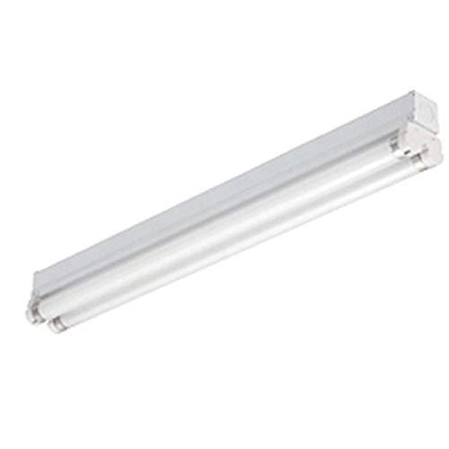 Lithonia Lighting MNS8 2 25 120 RE 2-Light T8 Mini-Strip Light for Residential Use, 3-Feet