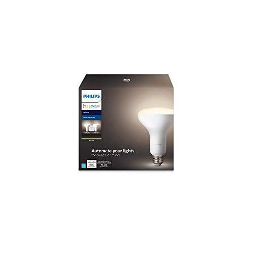 Philips Hue White BR30 LED 65W Dimmable Wireless Smart Light Starter Kit