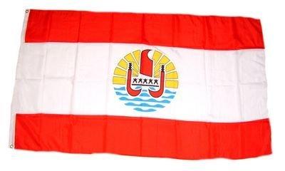 Fahne / Flagge Französisch Polynesien NEU by FahnenMax®