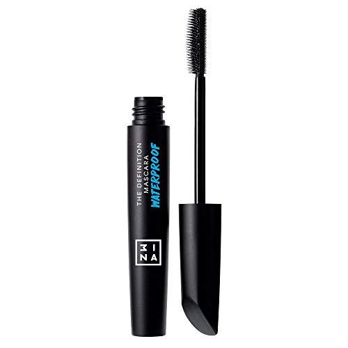 3INA   Maquillage Sans Cruauté   Vegan   Longue tenue   Allongement et Définition   Waterproof   Recourbant   The Definition Mascara Waterproof Noir