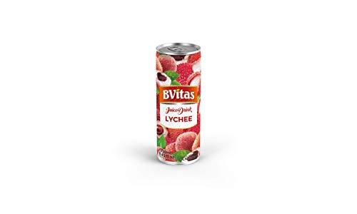 ビビタス ライチ ジュース 250ml 24缶 1ケース BVitas Lychee Juice Drink 業務用