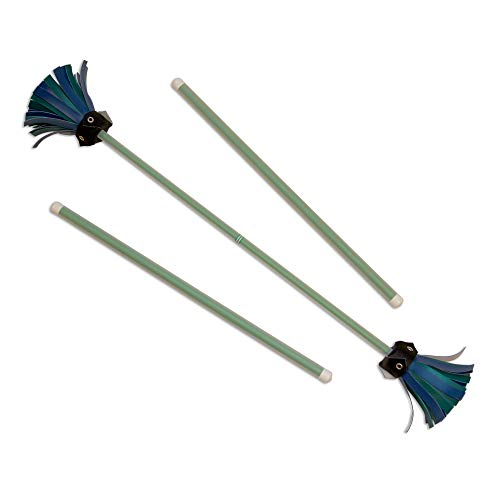 Green Majestix Juggling Sticks Devil Sticks