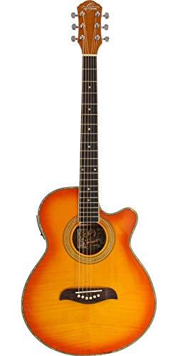Oscar Schmidt ISOSCOG10CEFYSB Guitarra Electroacustica Og10Cef, Amarilla Amarilla