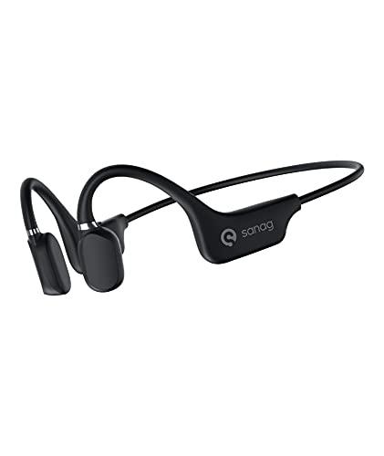 Bluetooth Headphones, SANAG Open-Ear Wireless Sports Headset with Mic,...