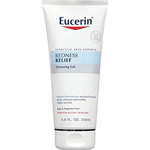 Rötungen, Soothing Cleanser, ohne Duft, 6,8 Flüssigunzen (200 ml) - Eucerin