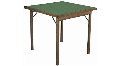 Tavolo da Gioco con Gambe Pieghevoli 90x90